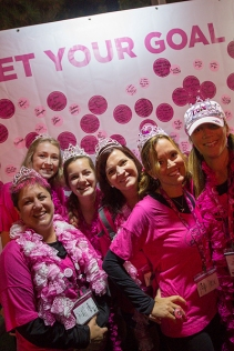 pink team crown 2013 Atlanta Susan G. Komen 3-Day Breast Cancer Walk